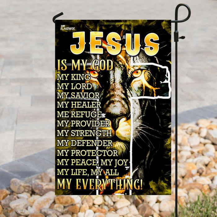 Jesus Is My Everything Flag - GIFTCUSTOM