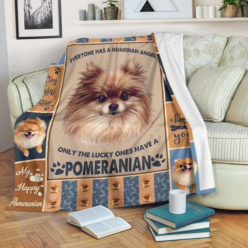Life Is Better With A Pomeranian Blanket - GIFTCUSTOM