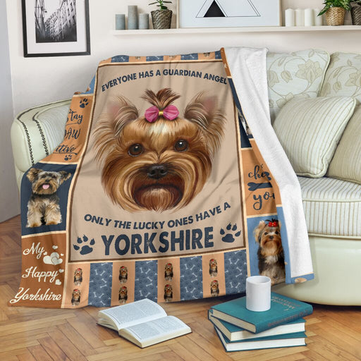 Life Is Better With A Yorkshire Terrier Blanket - GIFTCUSTOM