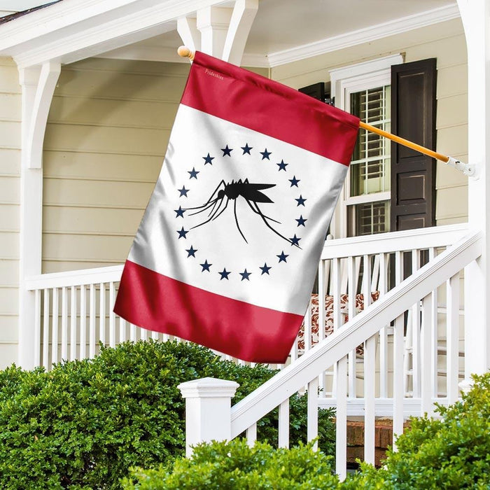 Mississippi The Mosquito Flag | Garden Flag | Double Sided House Flag - GIFTCUSTOM