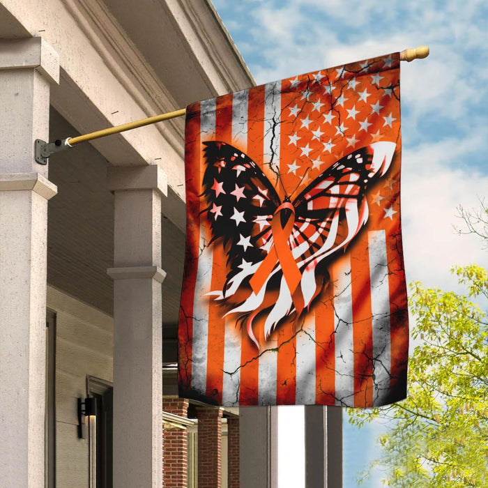 Multiple Sclerosis Awareness Flag | Garden Flag | Double Sided House Flag - GIFTCUSTOM