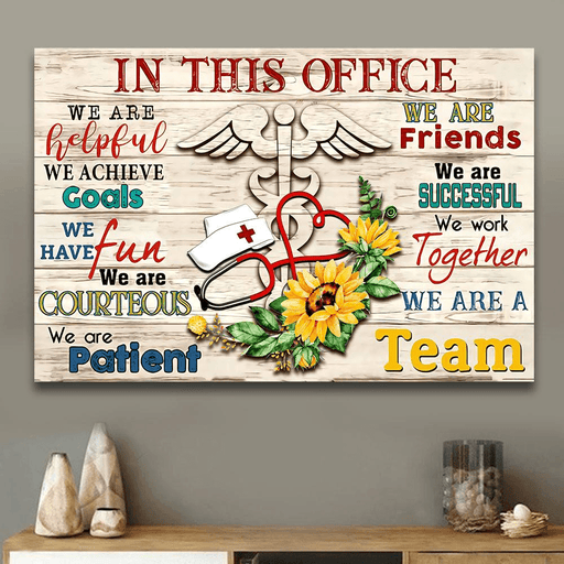 Nurse In This Office Horizontal Canvas And Poster - GIFTCUSTOM