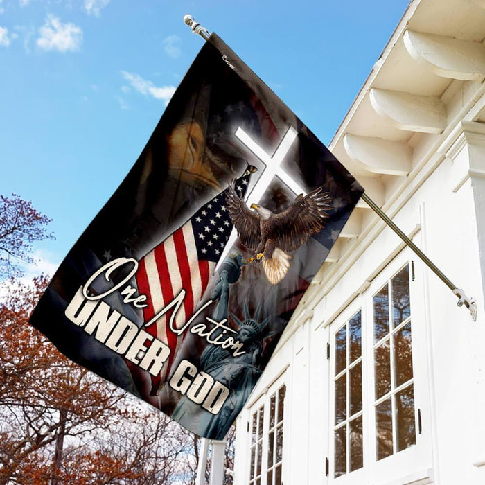 One Nation Under God America Flag - GIFTCUSTOM
