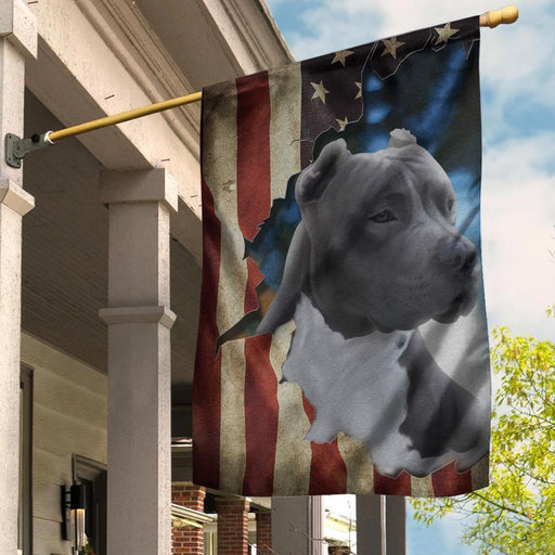 Pit Bull 4th July Pit Bull American Flag - GIFTCUSTOM
