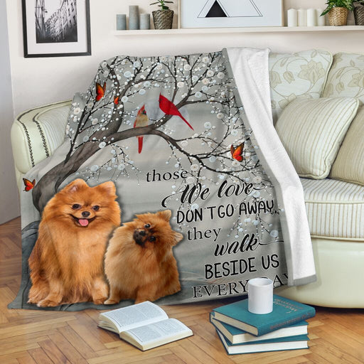 Pomeranian Every Day Blanket - GIFTCUSTOM
