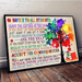 Student Canvas and Poster ��� Notice to all students wall decor visual art - GIFTCUSTOM