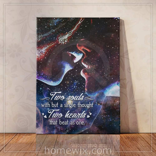 To My Love Couple Canvas And Poster | Wall Decor - GIFTCUSTOM