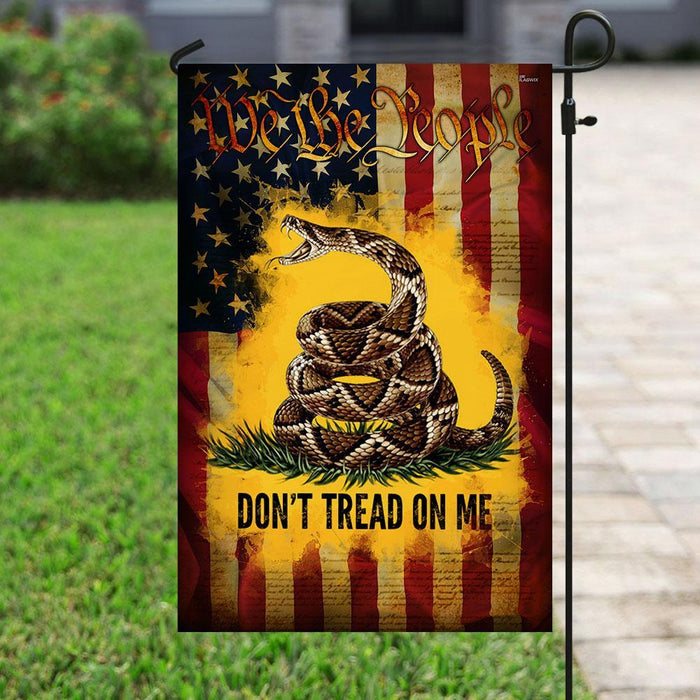 We The People American Flag | Garden Flag | Double Sided House Flag - GIFTCUSTOM