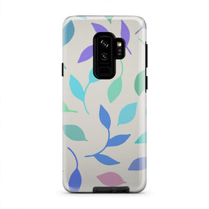 Blue Green And Purple Falling Spring iPhone X Case