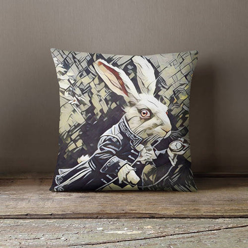 Alice In Wonderland Throw Pillow Cover Decorative
