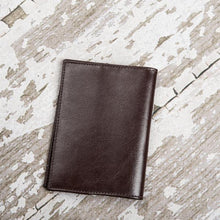 Load image into Gallery viewer, Wanderlust Genuine Leather Passport Cover