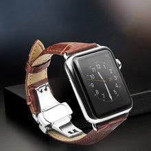 Load image into Gallery viewer, Leather Apple Watch 38mm&42mm band