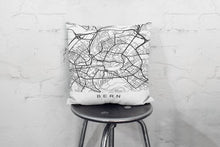 Load image into Gallery viewer, Bern City Map Switzerland Map Pillow Bern Print