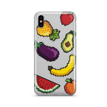 Load image into Gallery viewer, Smoothie 8-Bit Pixel - Clear Phone Case Cover