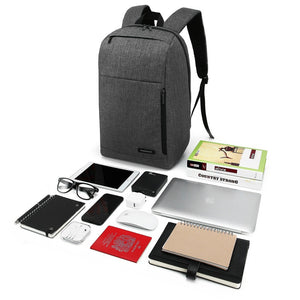 Laptop Backpack Water Resistant Slim School Bag 15.6 Inch for Notebook Tablets