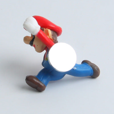 Super Mario DIY Fridge Refrigerator Magnet TV FC Childhood Game Japan Cartoon Gaming Cartoon 3D Ice Box Paster Icebox Sticker
