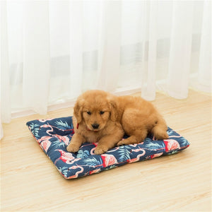 2018 Winter Pet Blanket Cute Candy Color Warm Pet Sleep Mats Solid Beds Pad For Big And Small Dogs Foldable Pet Cushion