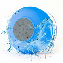 Load image into Gallery viewer, Mini Wireless Bluetooth Speaker Waterproof Shower Speaker Handsfree Portable Speakerphone with Suction Cup
