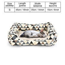 Load image into Gallery viewer, Dog Bed Sofa Pet Bed Mats For Small Medium Large Dogs Cats Kitten House For Cat Puppy Dog Beds Mat Bench Pet Kennel Pet Products