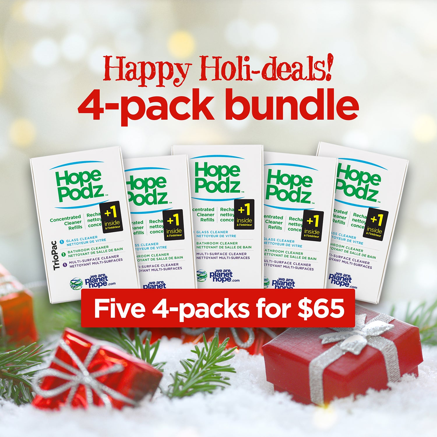 Five 4-Pack Holiday Bundle | Special Limited-Time Offer