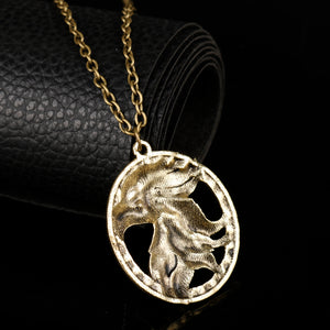 'Game of Thrones' Vintage Antique Gold Tone 'UNISEX' Chain Necklace