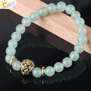 Absolutely Beautiful Green Aventurine Natural Stone Bracelet