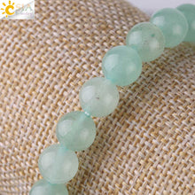 Load image into Gallery viewer, Absolutely Beautiful Green Aventurine Natural Stone Bracelet