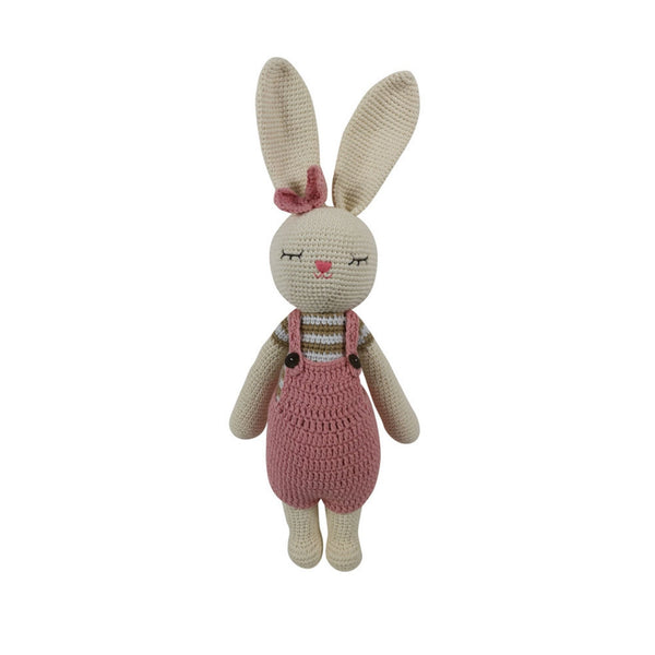 Handmade crochet toy - Miss Mary Bunny