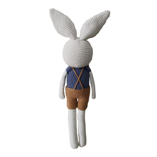 Handmade crochet toy - Mr Alfred Bunny