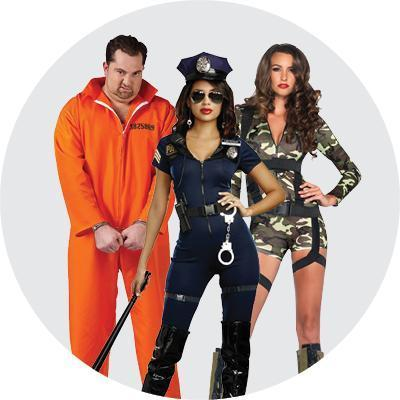 Costumes Halloween Police, Armée & Prisonniers