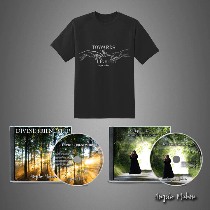 TWO CD'S & SHIRT BUNDLE - angelamahonshop