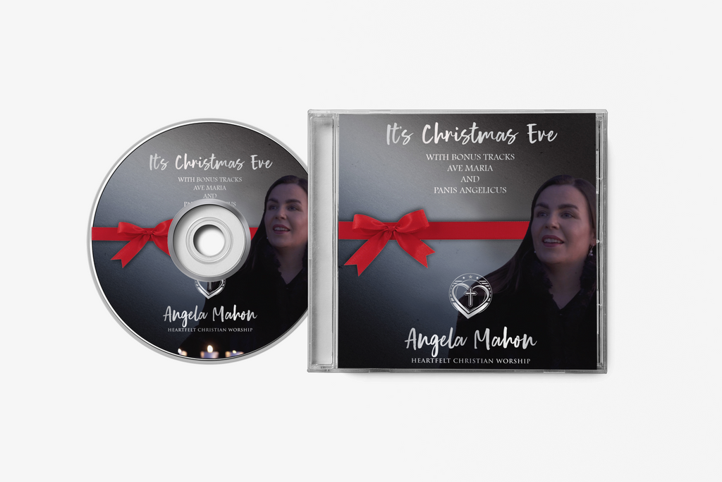 "Physical CD & Digital Download ""It's Christmas Eve"" (Autograhed)"