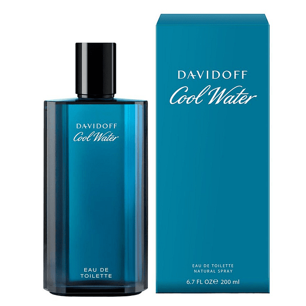 Cool Water Hombre 200 ml EDT Davidoff
