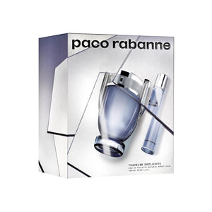 Invictus Set 2 Pcs Hombre 100 ml + 20ml EDT Paco Rabanne