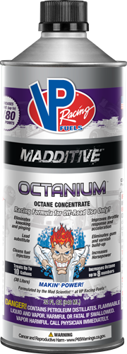 VP OCTANIUM REGULAR/UNLEADED CASE OF 8