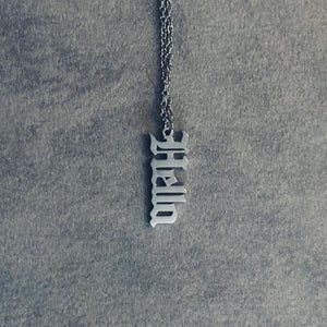Hella - Necklace Silver