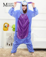 MOONIGHT Donkey Animal Pajamas Unisex Pijama Flannel Pyjamas Women Sleep Tops Cosplay Costume Onesies Robe - 1sies