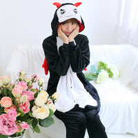 28 Colors Animal Pajamas Unisex Adult Pajamas Flannel Cute Cartoon Animal Onesies Winter Garment Pyjamas Suits Cosplay Costume - 1sies
