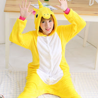 Yellow Pegasus Adult Unicorn Pajamas Unicorn Onesies Animal Pajamas Onesies Adult Animal Onesies Pajamas Christmas Pajamas - 1sies