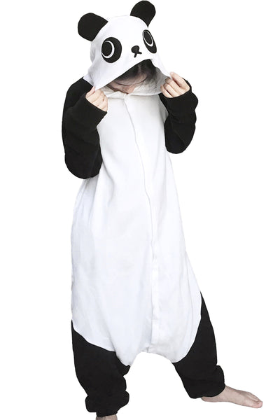 Animal Costumes Panda Onesie Pajamas Cosplay Adult Pyjamas Halloween - 1sies