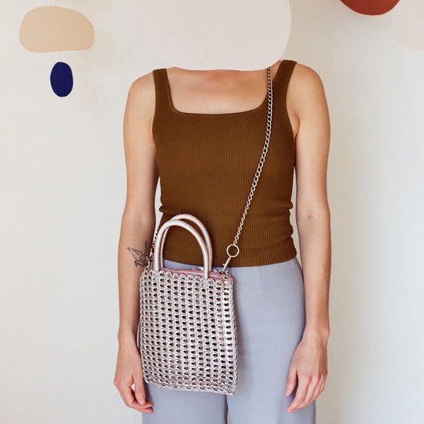 Cross Body Tote Model #44