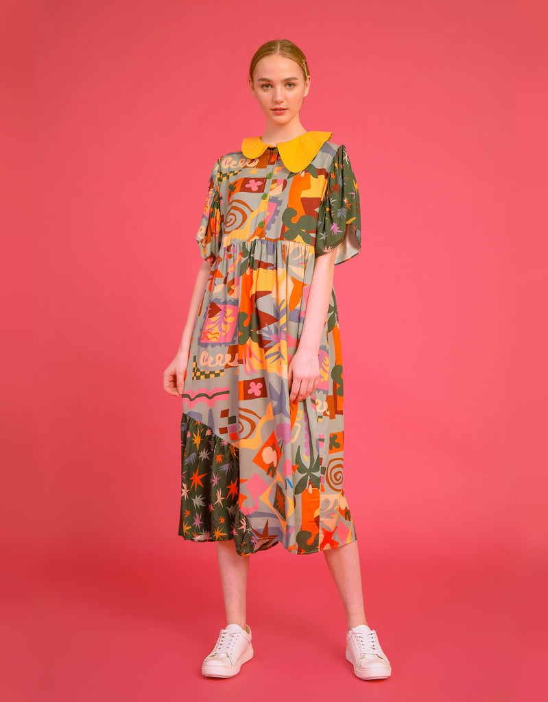 Matisse Cut-Outs Dress
