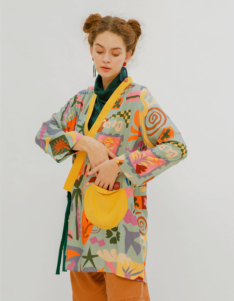 Matisse Cut-Outs Kimono Outer