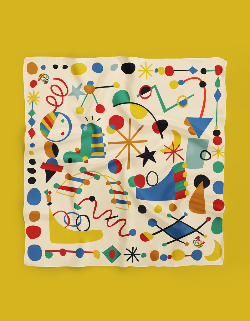 Miro Story of Lines Scarf