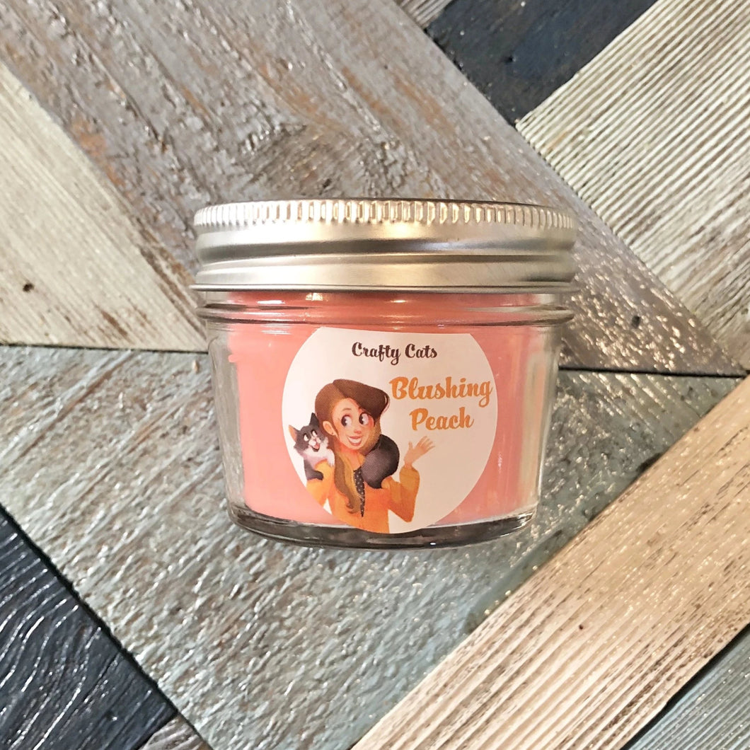 Blushing Peach Candle