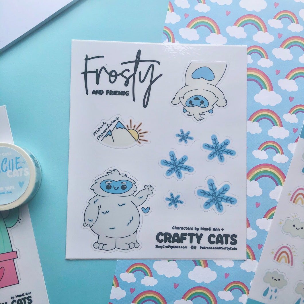 Frosty and Friends Sticker Sheet