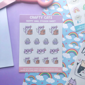 Happy Mail Demetria Planner Sticker Sheet