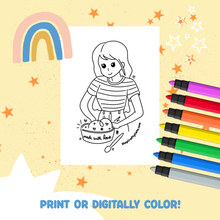 Made With Love Coloring Sheet Printable