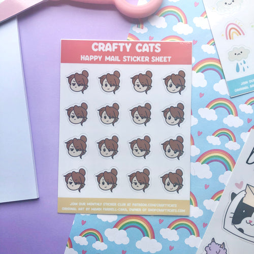 Pandi Mood Emoji Sticker Sheet