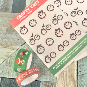 Pepper And Mintz Holiday Date Night Planner Stickers